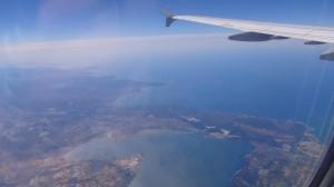 W samolocie do Hiszpanii